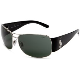 Polo ralph lauren men's 0ph3042 metal sunglasses