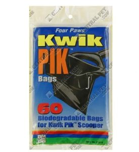 Kwik Pik-60 Pk Replacement Bags