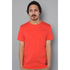 Nixon the tee marle in red,t-shirts for men