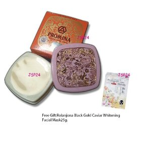 4 X 11g.promina Ginseng Pearl Acne Cream.(removal of Freckle or Darkish Spots. - Acne Will Dry and D