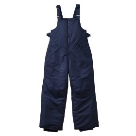 Boys' outerwear cherokee® chesterfield navy snow bibs