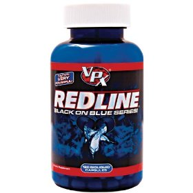 Vpx redline black on blue series, 120 bioliquid capsules bottle