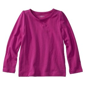 Infant toddler girls' cherokee® pink taffy ultimate tee
