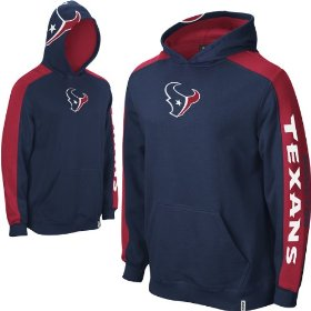 Reebok houston texans boys (4-7) powerhouse hooded fleece