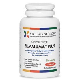 Slimaluma� 500 mg - natural appetite control with caralluma, green tea & yerba mate | 120 vcaps. mad