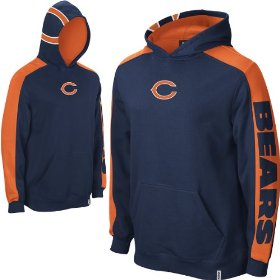 Reebok chicago bears boys (4-7) powerhouse hooded fleece