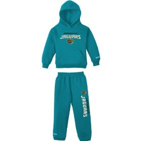 Reebok jacksonville jaguars infant 2 pc hooded sweatshirt & sweatpant set