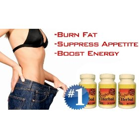 (3 bottles) super herbal with hoodia - the #1 rapid fat burner, appetite suppressant, weight loss di