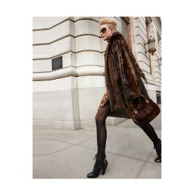 Spiegel faux fur coat