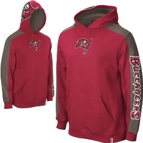 Reebok tampa bay buccaneers boys (4-7) powerhouse hooded fleece