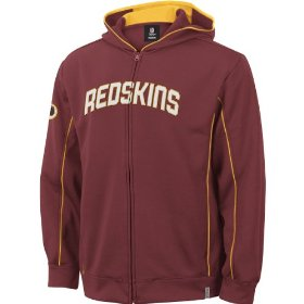 Reebok washington redskins boys (4-7) captain hooded fleece