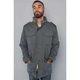 Wesc the osvald jacket in dark blue gray,jackets for men