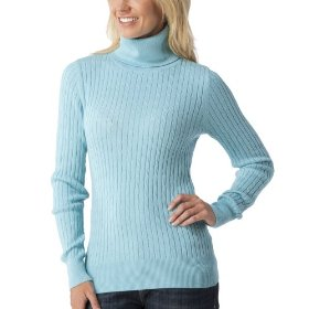 Merona® women's cable turtleneck sweater - quiet aqua