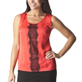 Merona® collection women's zola woven top - lollipop red