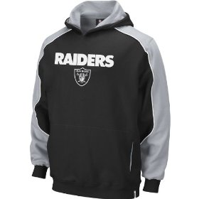 Reebok oakland raiders boys (4-7) arena sweatshirt