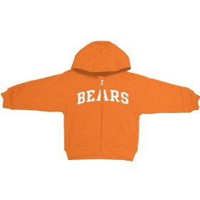Reebok chicago bears boys (4-7) full zip hooded sweatshirt
