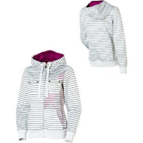 Volcom side saddle hydro full-zip hooded sweatshirt - women's