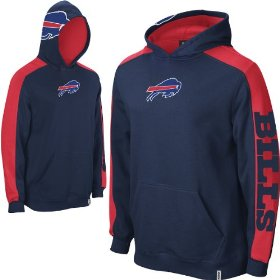 Reebok buffalo bills boys (4-7) powerhouse hooded fleece