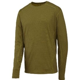 Merrell men's tenon opti-wick long sleeve shirt