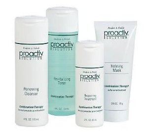 Proactiv Solution 3 Step Acne Fighting System plus Refining Mask - 4 Piece Kit