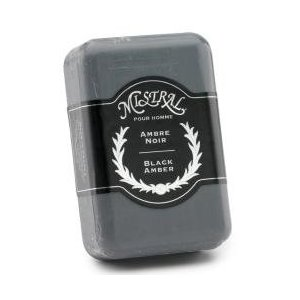 Mistral black amber soap - 8.8 oz
