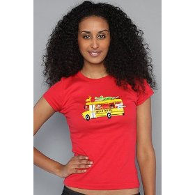 Paul frank the school bus julius tee,t-shirts for women
