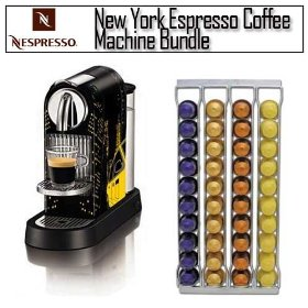 Nespresso citizdot new york espresso coffee machine with swissmar capstore fila 40 wall-mountable st