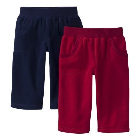 Newborn boys' circo® navy/red 2pk knit pant