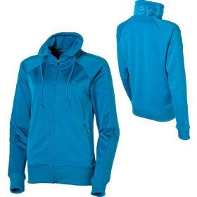 Hurley warm it up yc track jacket full-zip hooded sweatshirt - women's