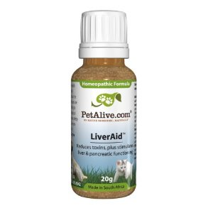 PetAlive LiverAid for Ongoing Pet Liver Support (20g)