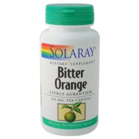 Solaray - bitter orange, 525 mg, 100 capsules