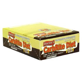 Doctor's carbrite diet sugar free bar, cookie dough, 2-ounce bars (pack of 12)