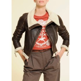 Mango women's double-face biker jacket