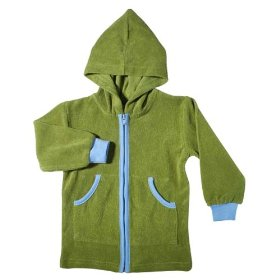 Positively organic boys' terry surf hoodie