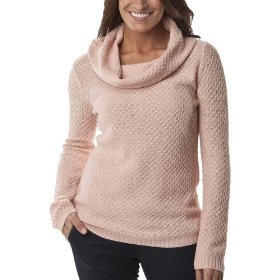 Merona® women's great stitch pullover sweater - pink metal