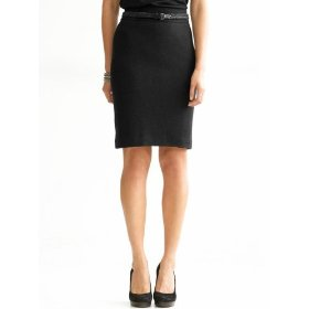 Banana republic tall boucl� pencil skirt