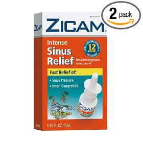 Zicam no drip liquid nasal gel with cooling menthol & eucalyptus, intense sinus relief, 0.5-ounce (1