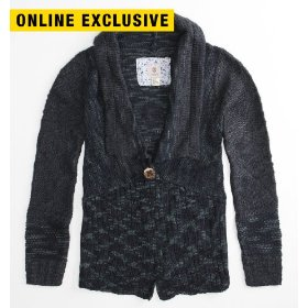 Element franco sweater cardigan
