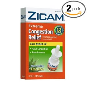 Zicam no drip liquid nasal gel with soothing aloe vera, extreme congestion relief, 0.5-ounce (15 ml)