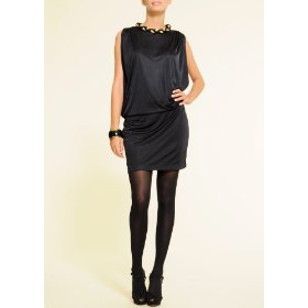 Mango women's dress trenzado