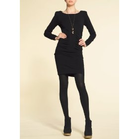 Mango women's fitted knitted dress