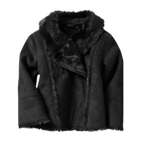 Gap fur moto jacket