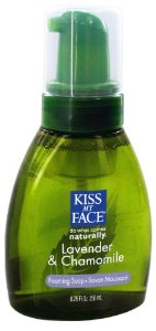 Kiss My Face Organic Lavender & Chamomile Self Foaming Liquid Soap, 8.75-Ounce Pumps (Pack of 3)