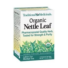 Traditional medicinals, organic nettle leaf tea 16 tea bags