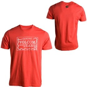 Volcom vbj worn out slim t-shirt - short-sleeve - men's