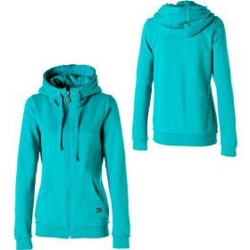 Volcom stone only full-zip hooded sweatshirt - women's