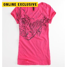 Metal mulisha dessa scoop tee