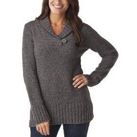 Merona® women's chenille shawl collar pullover sweater - heather grey