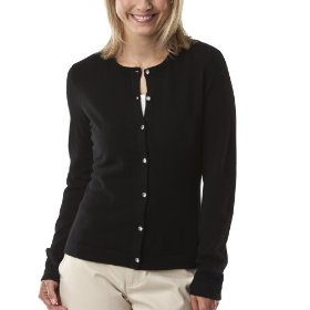 Merona® women's cashmere cardigan sweater - black