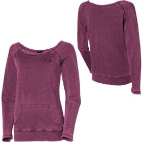 Volcom stone only boatneck sweatshirt - women's